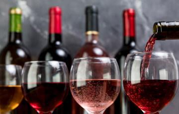 ワインの試飲1杯無料